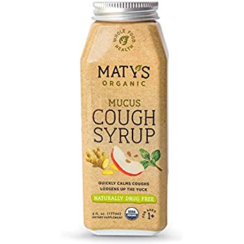 Amazon.com: Matys Organic Children's Mucus Cough Syrup, 6