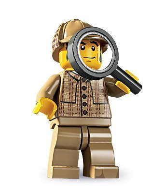 4 opinioni per Lego Serie 5 Minifigure- Detective