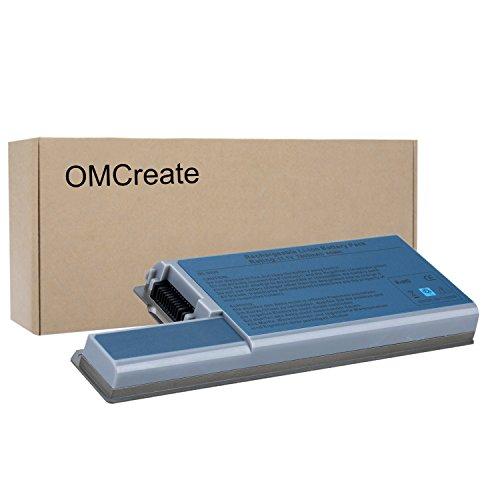 OMCreate 9-Cell Laptop Battery for Dell Latitude D830 D820 D531, Dell Precision M4300 M65, fits P/N CF623 DF192 FF232 MM165- 12 Months Warranty