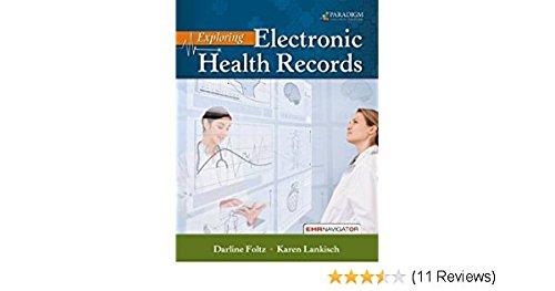 Course Navigator Access Code for Foltz Exploring Electronic Health Records