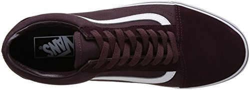 Unisex Suede Adultos True Brown para Canvas White Vans Skool Old Iron Marrón Zapatillas tCxFnORwq