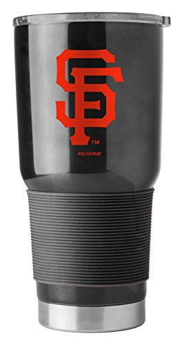 Boelter MLB San Francisco Giants 30 oz. Ultra Tumbler MLB San Francisco Giants, Black, Small ()