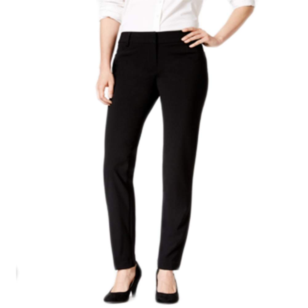 BCX Women's Juniors' Straight-Leg Pants Black 15
