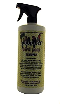 Poop-Off Bird Poop Remover Sprayer, 32-Ounce by Life's Great Products, LLC