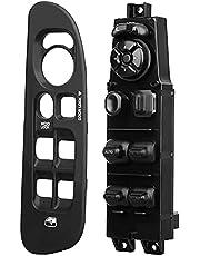BASIKER Power Window Switch and Bezel Replacement for Dodge Ram 1500/2500/3500 2002-2009 Window Switch