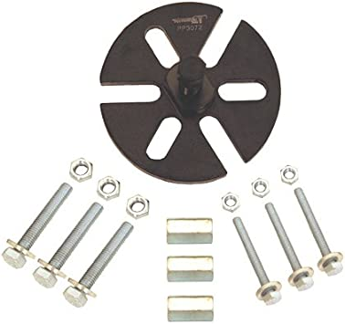 Pit Posse Quick Bolts Universal Removable Hardware for Trailer and Wheel Chock