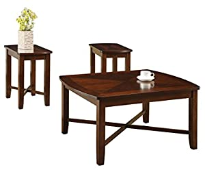 Acme Naren Coffee End Table Set 3 Pack Dark