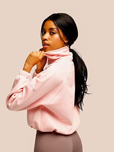 SWEDISH FALL LIFTING ATHLETES Free Spirit Zipup Sweater Pink