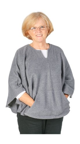 Granny Jo Products Women's Adaptive Fleece Poncho...