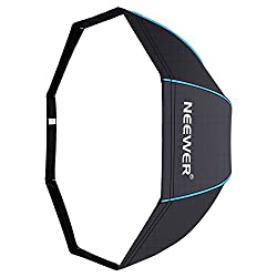 Neewer 31.5 Inches 80 Centimeters Portable Octagonal Umbrella Softbox For Studio Flash, Speedlite, With White Diffuser & Carrying Bag For Portrait Product Photography (Blackblue)