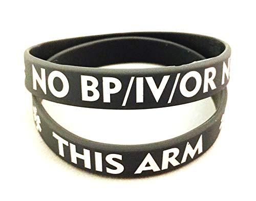 NO/BP/IV Needles This Arm -...