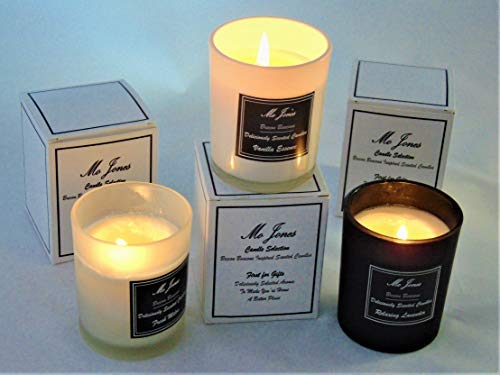 Scented Candles Gift Set (3 Pack) Set of Unique & Luxury, Perfect for a home & as a Gift, Birthdays, Weddings, Anniversaries, Mothers Day, Thanksgiving, Relaxation, 100% Soy Candle Wax.