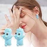 Cute Biting Ear Studs, Rmbaby 3D Dinosaur Bite