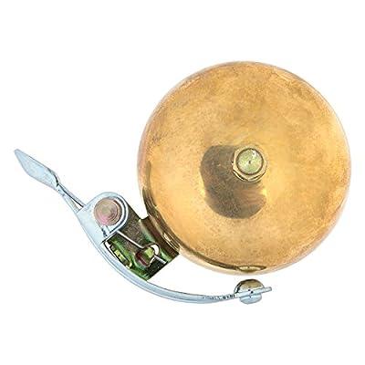 Origin8 Time Clock Bell, Brass : Bike Bells : Sports & Outdoors