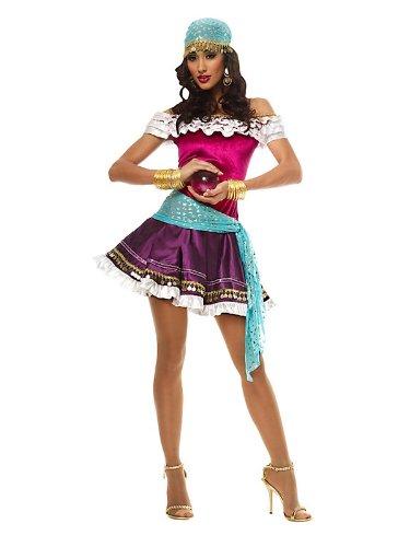 Womens Fortune Teller Costumes - Fortune Teller Adult Costume - Medium