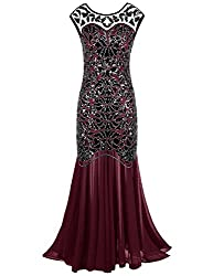 Sequin Gatsby Maxi Long Gown