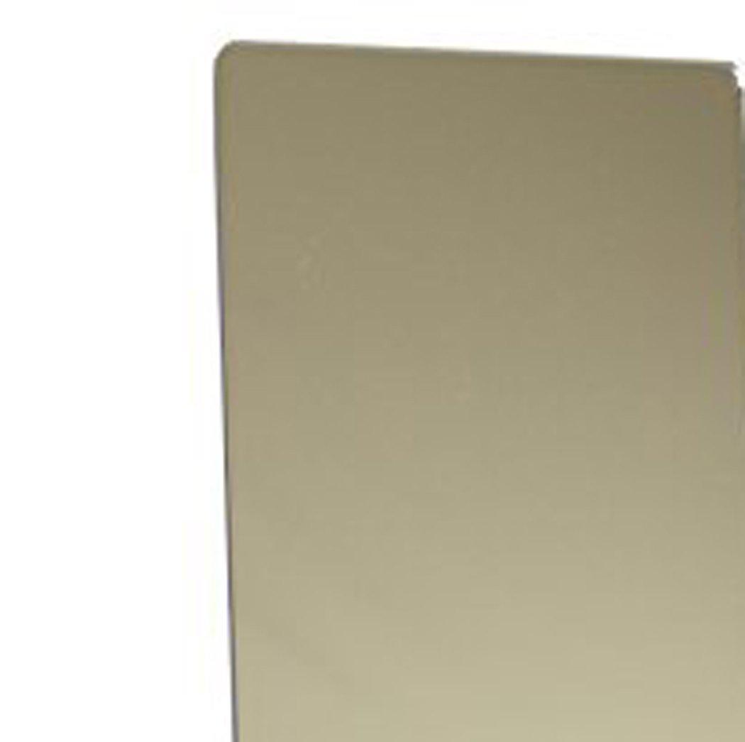 Mungai Mirrors Rectangle Acrylic Mirror, Plastic, Silver, 120 x 30 cm 3001