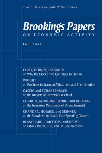 Brookings Papers - Brookings Papers on Economic Activity: Fall 2013