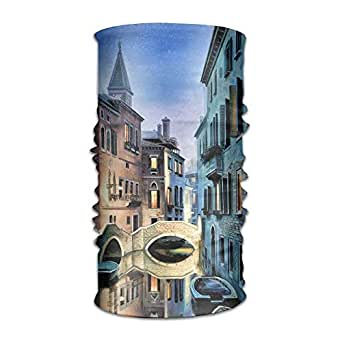 Beautiful Venice Landscape Art Outdoor Scarf Cycling