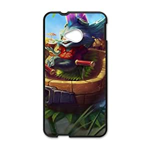 HTC One M7 Cell Phone Case Black League of Legends Rumble in the Jungle Ldoqk