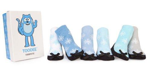 Yo Gabba Gabba Baby Girls Socks Box Set, Toodee (0-12 months)]()