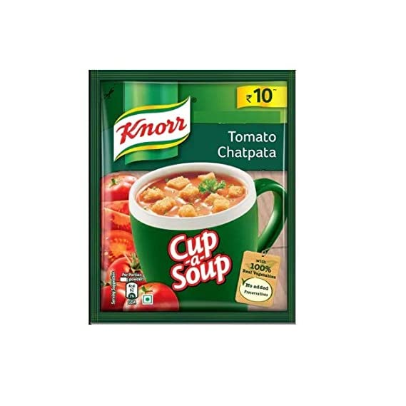 Knorr Instant Soup Tomato Chatpata, 14g - Pack of 12