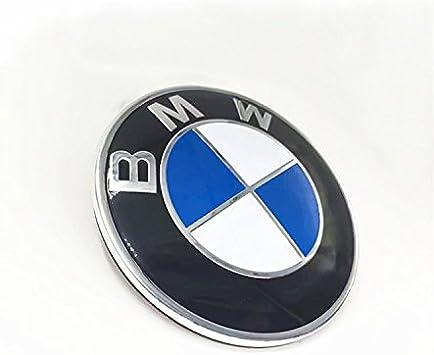 BMW Embl/ème Logo de remplacement pour hotte//coffre 82/mm pour tous les mod/èles BMW E30/E36/E46/E34/E39/E60/E65/E38/X3/X5/X6/3/4/5/6/7/8