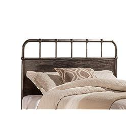 Bedroom Hillsdale Furniture Hillsdale Grayson, Rubbed Black King Headboard, farmhouse headboards