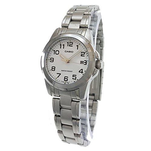 (Casio Women's LTP-1215A-7B2DF Quartz Analog Silver Tone Watch)