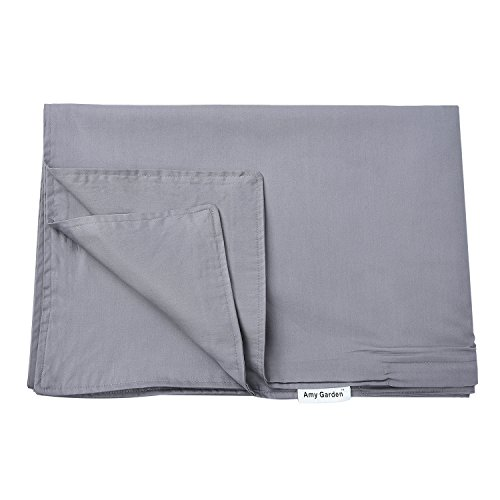 premium duvet covers cotton removable cover for weighted blanket inner layer grey 48 39 39 x72. Black Bedroom Furniture Sets. Home Design Ideas