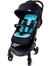 DUWEN Folding Portable Stroller, Nest Stroller | Baby Stroller with Height Adjustable Reversible Seat, Bassinet Mode, Extra Large Storage, Self Standing Fold and Lightweight Aluminum Fram