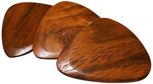 - US Blues P3-TWRS Tone Woods Indian Rosewood Guitar Picks