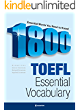 1800 TOEFL ESSENTIAL VOCABULARY (English Edition)
