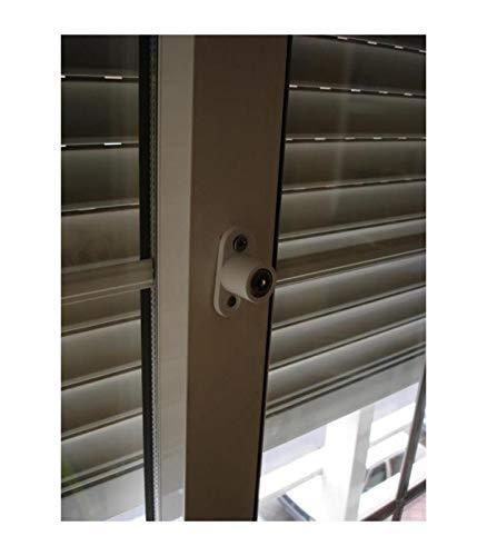 LLAVES IGUALES Cerradura de ventanas correderas Plata PACK 4