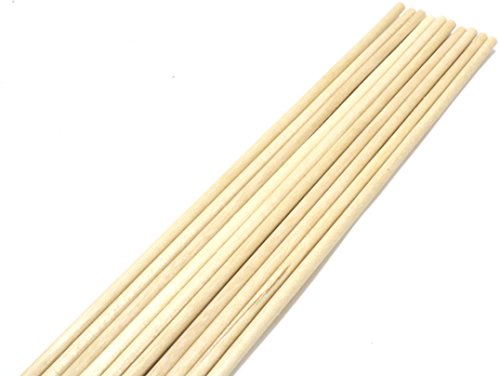 wooden dial rods - 1