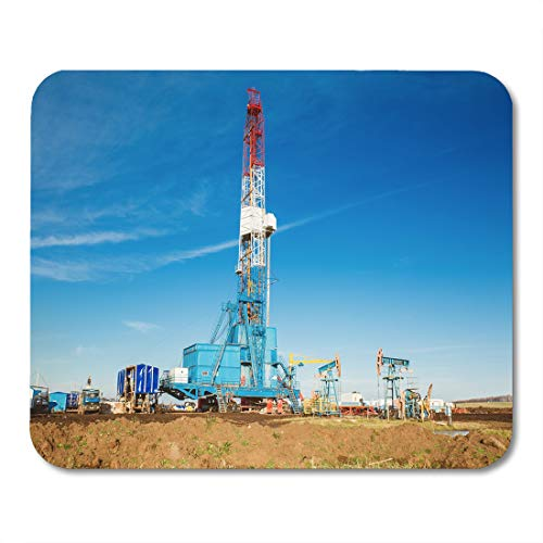 - Semtomn Mouse Pad Onshore Drilling Rig Gas Land Oil Natural Extraction Well Mousepad 9.8