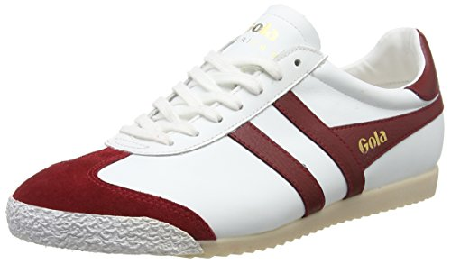 Red 50 Wr Leather Harrier Bianco White Sneaker Uomo Gola 50aq1wH77