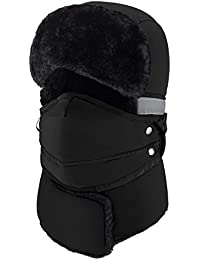 43ec7304fc6 Winter Windproof Warm Hat   Trapper Ushanka Hat