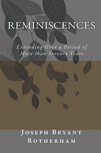 Reminiscences: Extending Over a Period of More than Seventy Years pdf