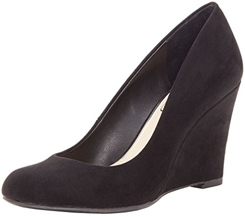 Jessica Simpson Women's Js-Cash, Black Suede, 7.5 M US