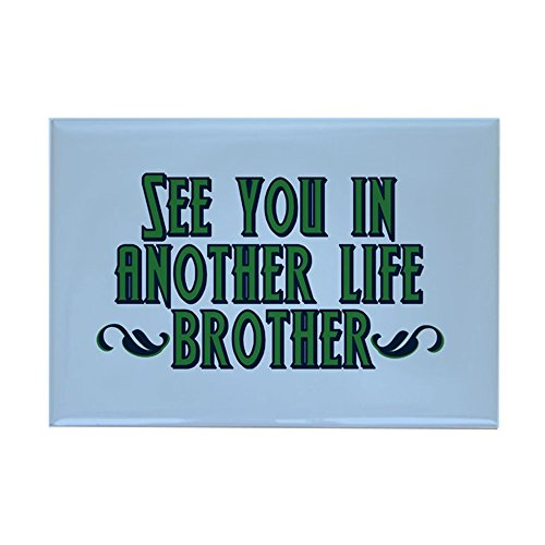 CafePress LOST Brother Rectangle Magnet, 2