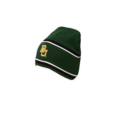 A Baylor Bears Engager Beanie, One Size, Forest/Black/White ()