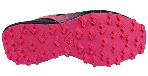 gibra - Zapatillas de Material Sintético para mujer negro / rosa