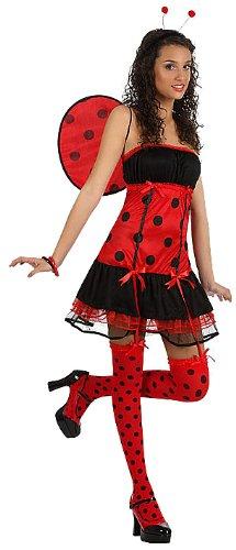 69b50b086e4c Atosa 10412 - Costume per Travestimento da Coccinella Sexy, Donna, XS/S