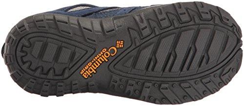 Columbia Childrens Redmond Waterproof, Zapatillas de Deporte Exterior para Niños Azul (Steam, Super Solarize 088)