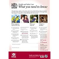 Health and Safety Law: What You Need to Know (HSE Law Poster) - A2