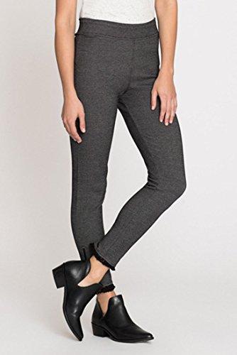 Nic+Zoe Women's Fringe Knit Legging Pant - Grey Mix - L by NIC+ZOE (Image #2)