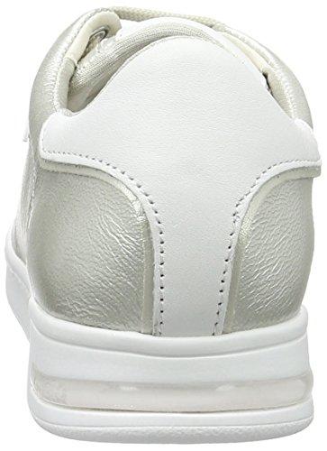 Argento Geox A platinumc2010 Da Sneakers Donna Basse Jaysen x8wTaq