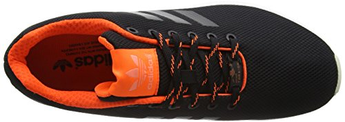 adidas ZX Flux, Scarpe da Corsa Unisex – Adulto Nero (Core Black/Solar Orange/Sun Glowcore Black/Solar Orange/Sun Glow)
