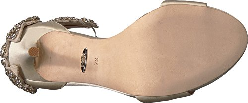 Badgley Mischka Womens Hilda Ivory Satin ujMdwf